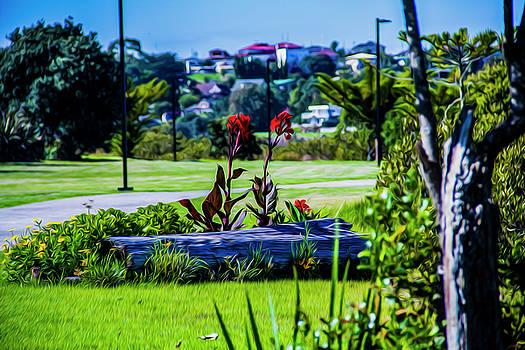 Garden Log by Stuart Manning