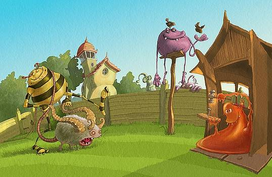 Garden Monsters by Andy Catling