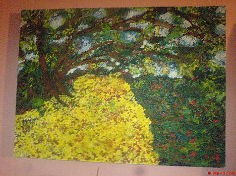 Garden of Eden 1 by Lazar Caran