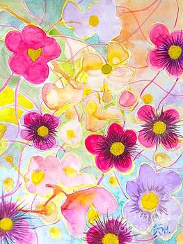 Garden of love and joy by Wonju Hulse