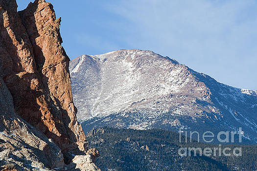 Steve Krull - Garden of the Gods and Pikes Peak View