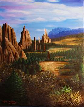 Garden of the gods.  by Gene Gregory