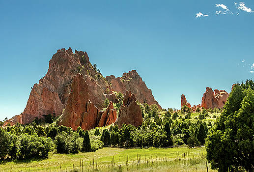 Garden Of the Gods II by Bill Gallagher