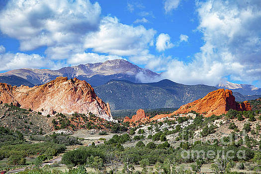 Garden of the Gods Pikes Peak Colorado Springs by Kimberly Blom-Roemer