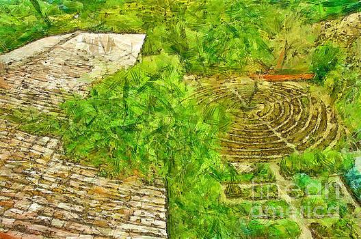 Garden of the simple by Giuseppe Cocco