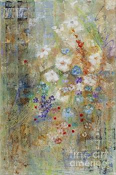 Garden of White Flowers by Frances Marino