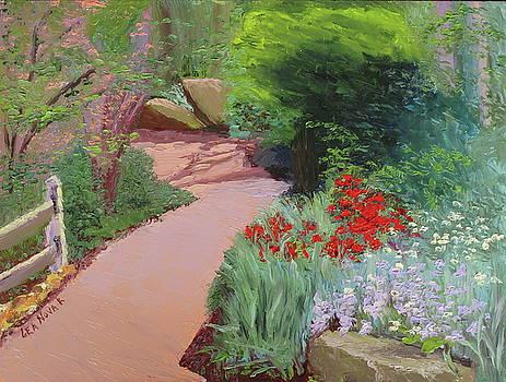 Lea Novak - Garden Path at Sayen