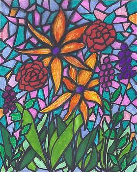 Garden Scene III by Wayne Potrafka