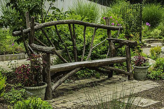 Allen Nice-Webb - Garden Tree Bench