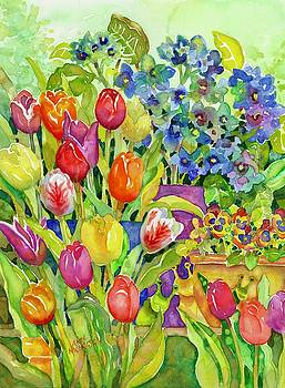 Garden Visitors by Ann Nicholson