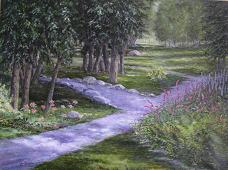 Garden walk by Jan Byington