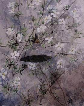Garden Wall Light by Aletha Jo Lane