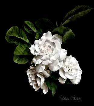 Gardenia Art Paintography by Barbara Chichester