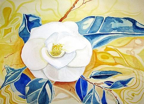 Gardenia nocturne by Jessi Aaron