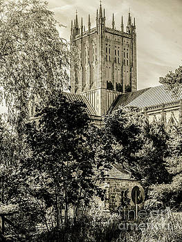 Lexa Harpell - Gardens of Bishops Palace Wells England