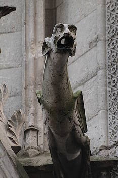 Gargoyle Notre Dame by Christopher Kirby