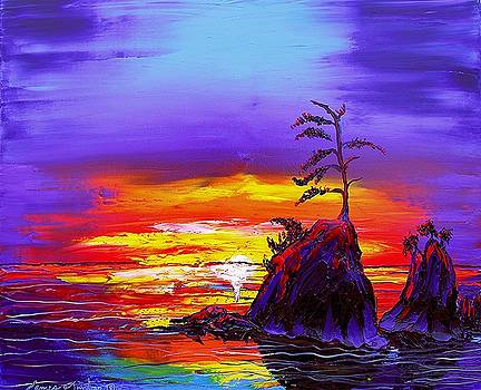 Garibaldi Beach At Sunset  #10 by Portland Art Creations