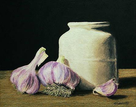 Garlic Crock by Marna Edwards Flavell