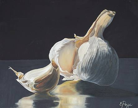 Garlic II by Emily Page