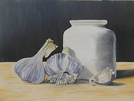 Garlic is Ready by Connie Rowsell