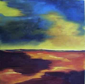 Garnet Field II by Kelly Hutchinson