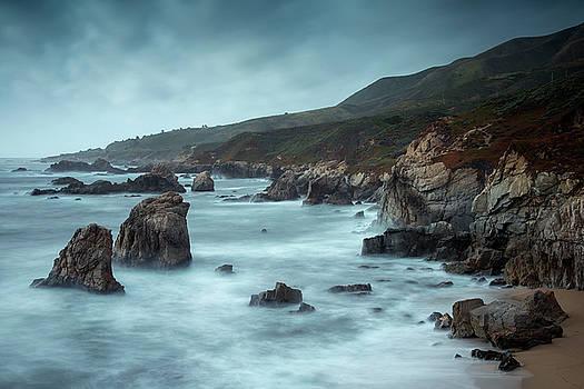Garrapata Beach, Big Sur, California by David Stanley