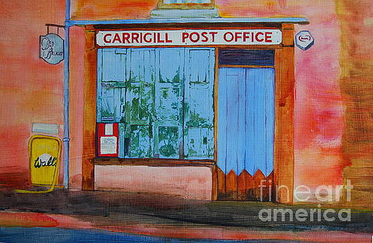 Garrigill Post Office by Eleanore Ditchburn