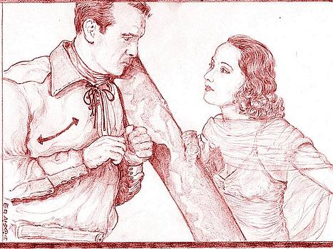 Gary Cooper - Merle Oberon by Didier DidGiv