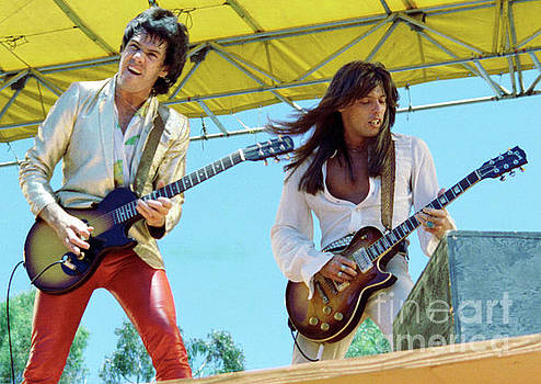 Gary Moore and Scott Gorham of Thin Lizzy at Day on the Green 4th of July 1979 - New Unreleased by Daniel Larsen