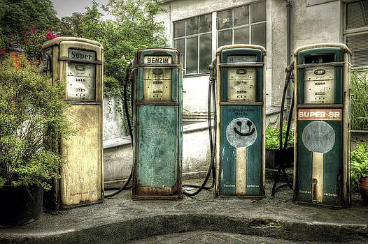 Gas Pump Quartet by Steven Coppenbarger