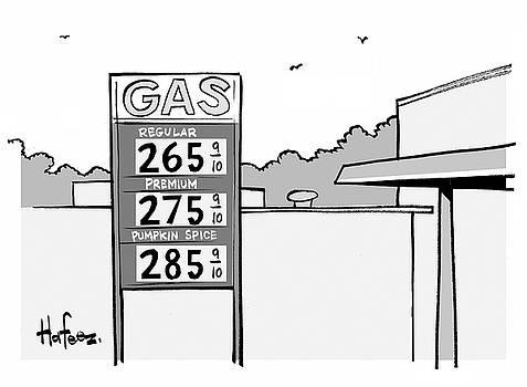 Gas Station Pumpkin Spice by Kaamran Hafeez