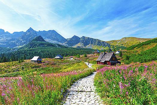 Gasienicowa Valley in Tatry mountains, Poland by Lukasz Szczepanski