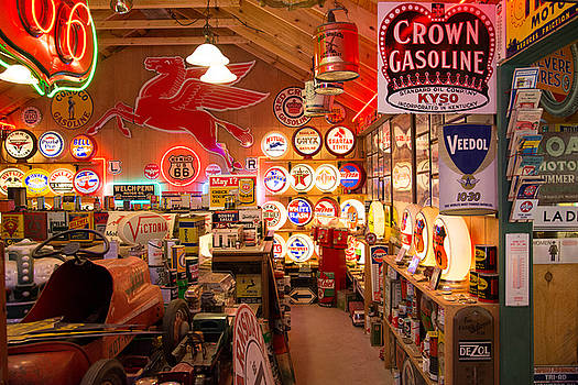 Gasoline Alley by Robert Brusca