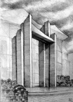 Gate by Dariusz Kronowski