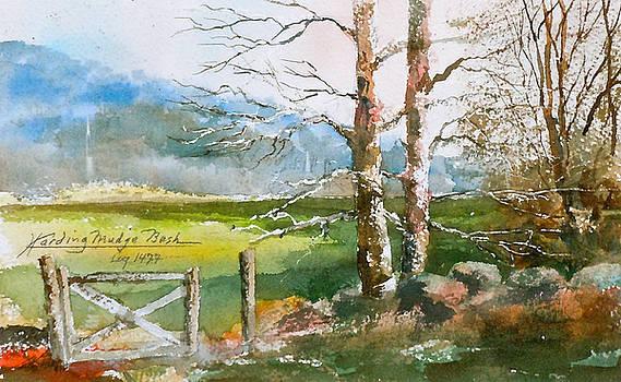 Gated Field  Groton MA by Harding Bush