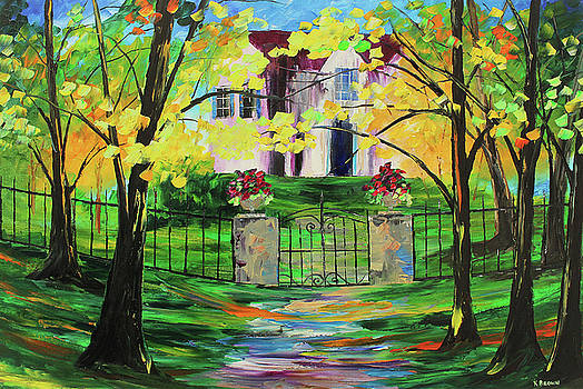 Gated House by Kevin Brown