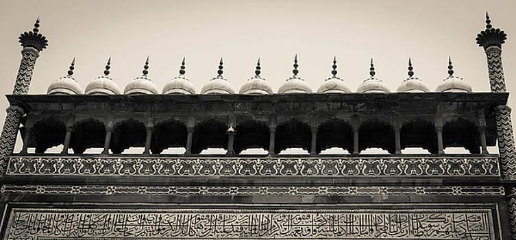 Gates to Taj by Sunman