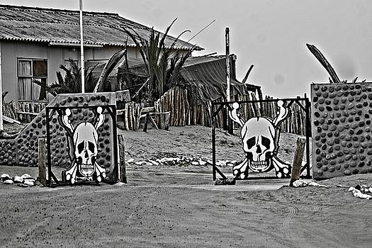 Gates to the Skeleton Coast by Jaqueline Briel
