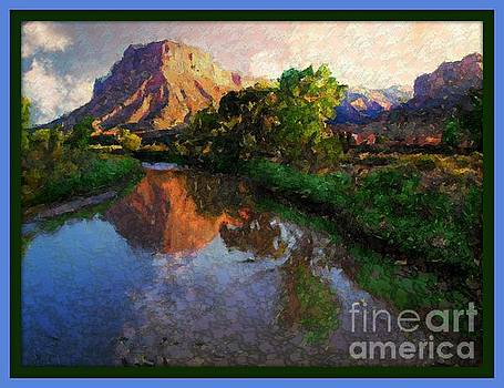 GateWay Colorado Mesa by River by Annie Gibbons
