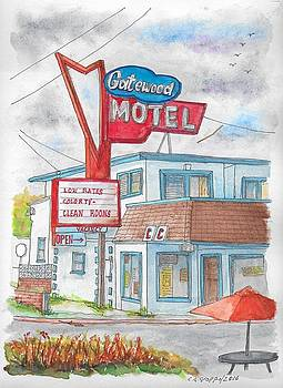 Gatewood Motel in Las Vegas, Nevada by Carlos G Groppa