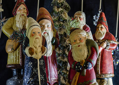 Gathering of Father Christmas by Stephanie Maatta Smith