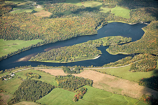 Gatineau River by Eunice Gibb