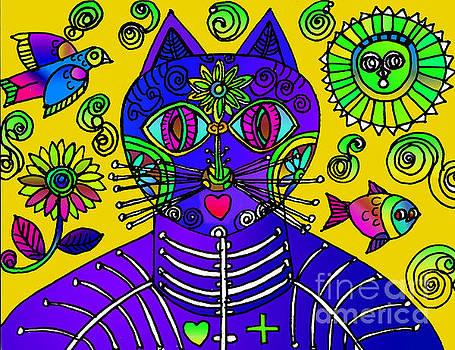 Gato Amarillo by Lydia L Kramer