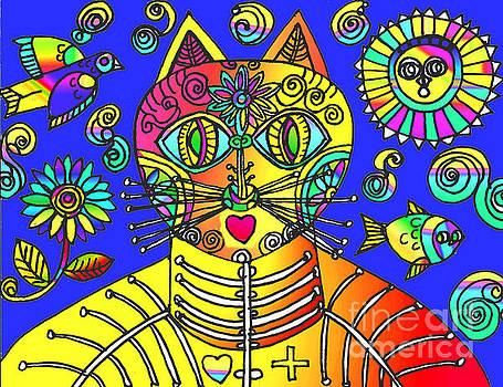 Gato Azul by Lydia L Kramer