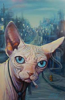 Gato De La Noche by Katharine Turk-Truman