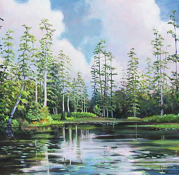 Gator Pond by Stacey Breheny