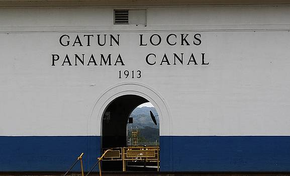 Gatun Locks by Cheri Carman