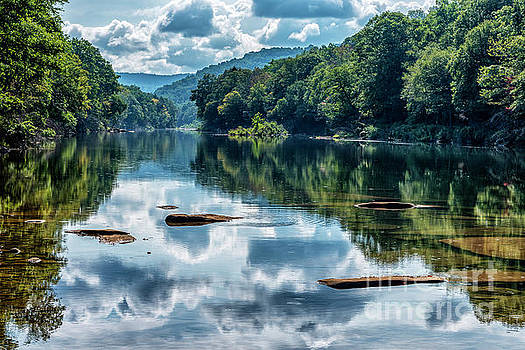 Gauley River Reflections by Thomas R Fletcher