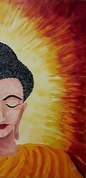 Gautam Buddha  by Shilpi Singh
