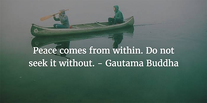 Gautama Buddha Quote by Matt Create